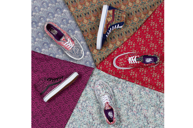 Vans x Liberty of London