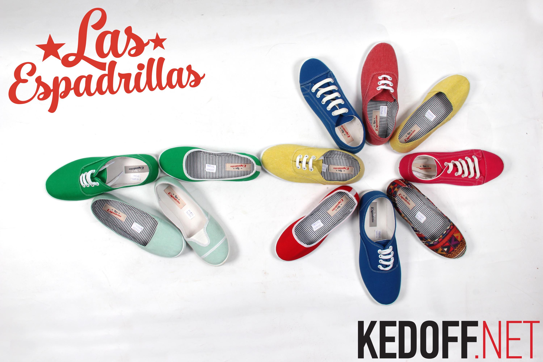 Las Espadrillas - капсульная коллекция кедов