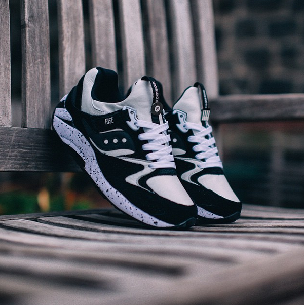 "RISE х Saucony Grid 9000 ""Keys Open Doors"""
