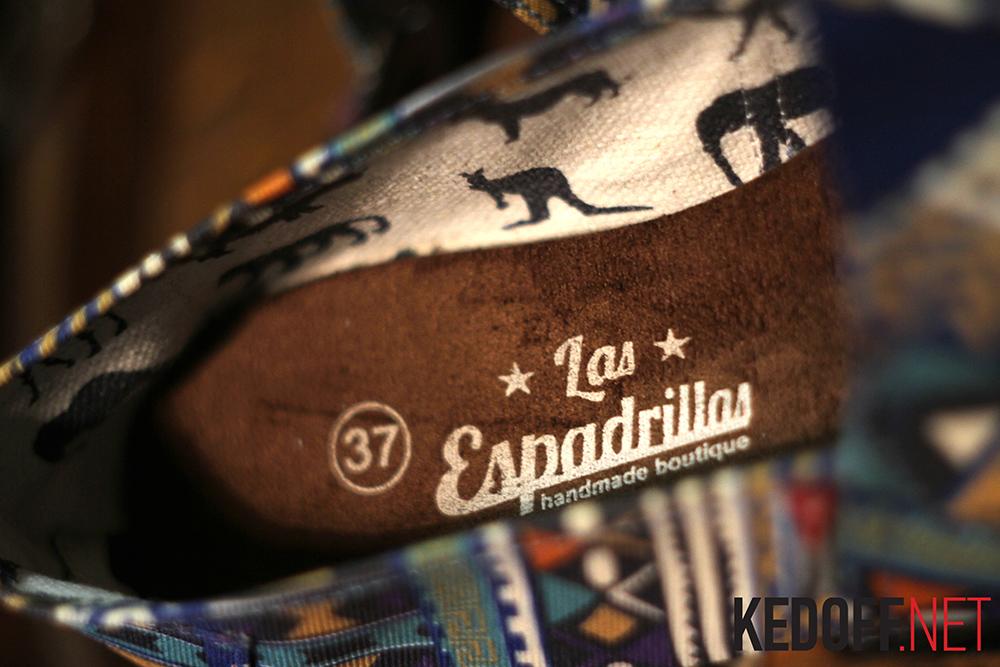 Линейка обуви Las Espadrillas