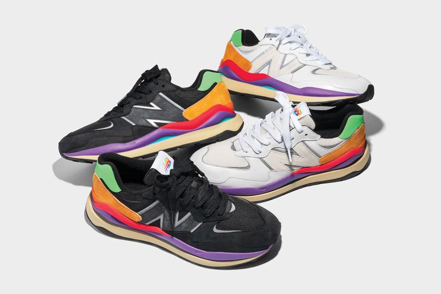Новые кроссовки New Balance 57/40