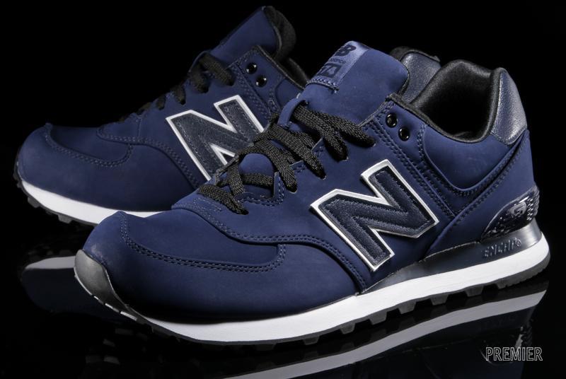 New Balance 574 - Navy/Black