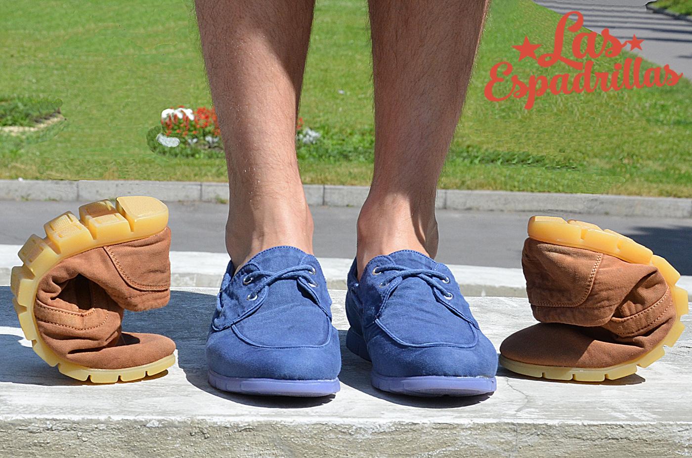 Комфортная мужская обувь Las Espadrillas