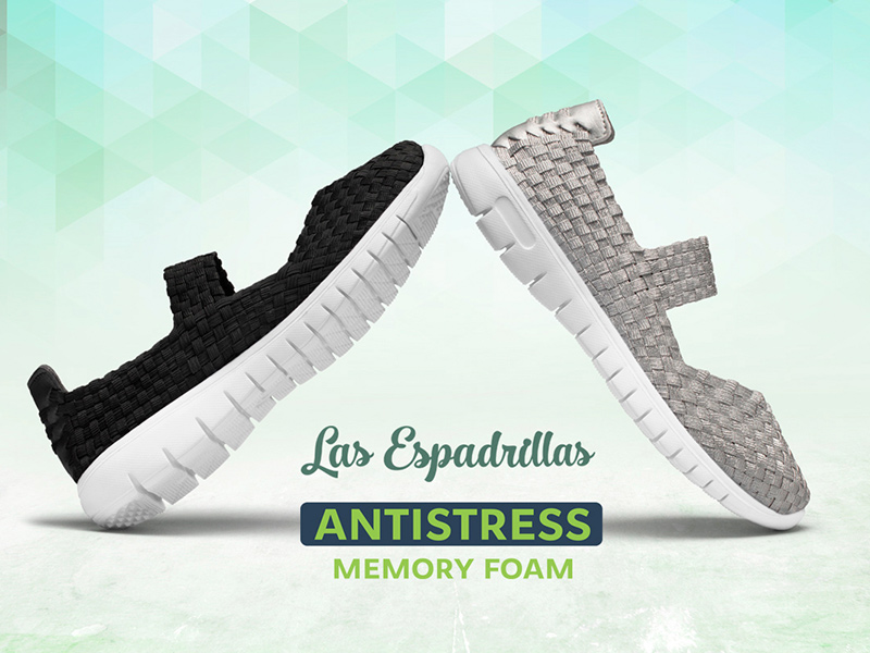 Новое поступление балеток Las Espadrillas Memory Foam