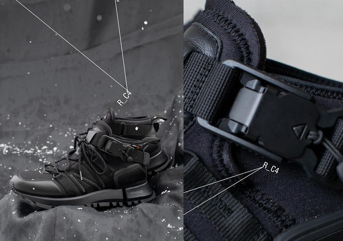 Snow Peak и New Balance Токийская студия дизайна подготовила черно-белый R_C4