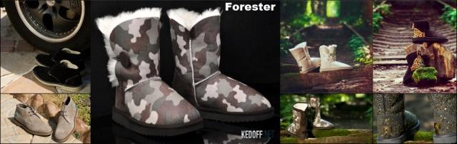 Угг Forester - коллекция зима 2014 года.