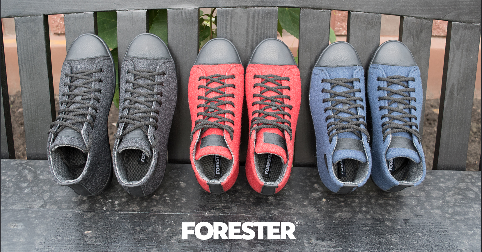 Кеды Forester Felt Case 132125