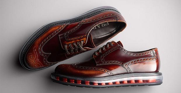 Итальянский бренд класса «люкс» представил новую коллекцию брогов с оригинальным дизайном.