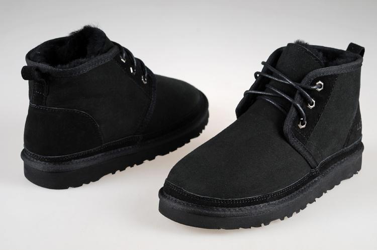 Мужские Угги на шнурках