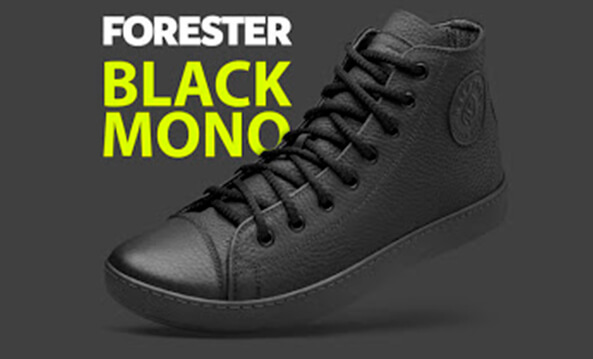 Leather shoes Forester Monochrome 132125-272 MB
