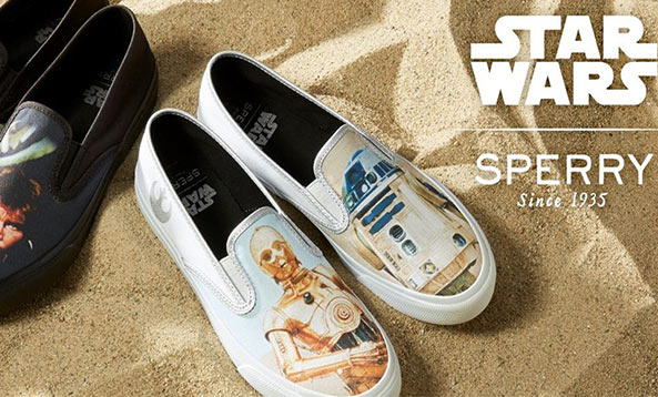 Star Wars & Sperry Top Sider