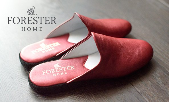 Leather Slippers Forester