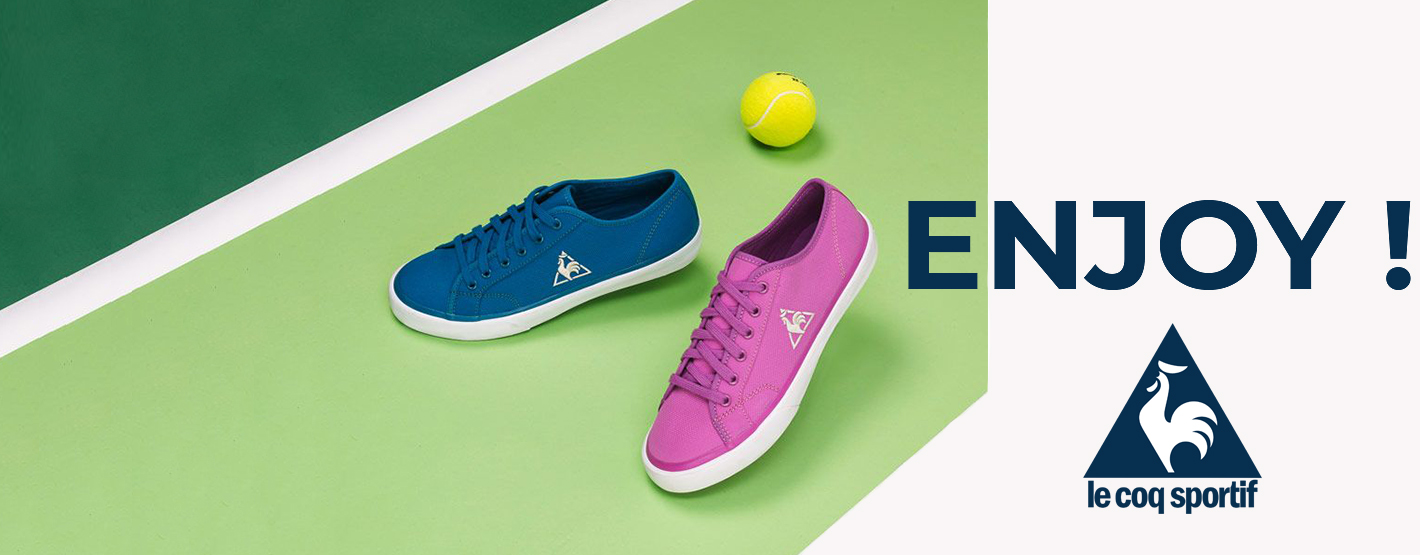Le Coq Sportif is a French brand