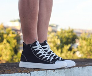 Canvas shoes Las Espadrillas 4850-9160 Black Cotton