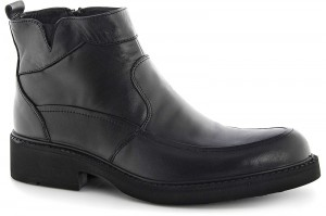 Boots Forester 165-27 Black Leather