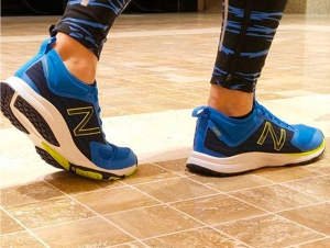 Mens sneakers New Balance MXQIKBB2 (Blue)
