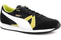 Кроссовки Puma 358274-03 унисекс   (зеленый/чёрный/белый)