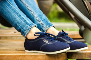Women's sneakers Las Espadrillas Soul 1550-89 Navy