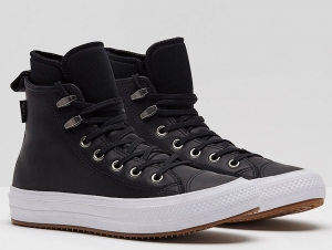 Кожаные кеды Converse Chuck Taylor All Star Waterproof Boot Hi 557943C