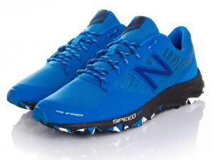 Mens running shoes New Balance Trail MT690RE2 (blue)