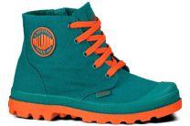 Дитячі черевички Palladium Duo Chrome Zipper 53159-441