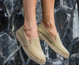 Loafers Las Espadrillas Fv5651-18 Made in Spain