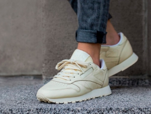 Sneakers Reebok Classic Leather Pastels Bd2772 unisex (Beige,Yellow)