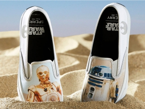Сліпони Sperry Cloud Slip On Дроїд SP-17649 Star Wars унісекс (Multi-Color,Білий)