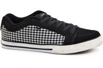 Текстильная обувь Adio 75280  (чёрный/белый)