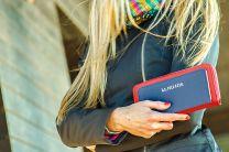 Клатчи и кошельки U.S. Polo Assn 8021-1 унисекс   (красный/синий)