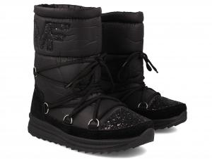 Women's quilted Forester Moon Black 1701830-27