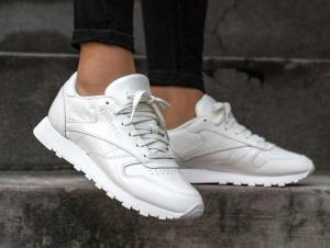 Кросівки Reebok Classic Leather Patent \ White cn0770