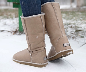 Winter Boots Forester 11050-2008 light-brown skin