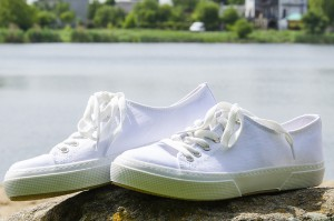 Canvas shoes Las Espadrillas 4366-13SH White cotton