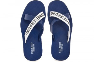 Чоловічі сланці Bikkembergs Mens Flip Flops 568-40 Made in Italy