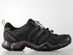 Кроссовки Adidas Terrex Swift R Gore-Tex BB4625 унисекс   (тёмно-серый/чёрный)