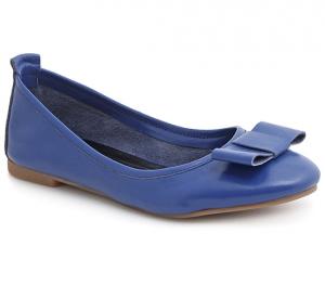 Балетки Bigoni v1-85 синие