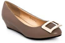 Women's pumps Raxmax ES13526TP Cream leather