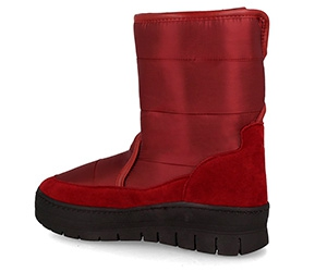 Snow boots Forester 701-248 Burgundy nylon
