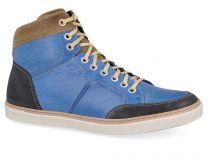 Мужские зимние кеды Forester 02-0346-003   (синий)