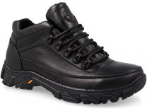 Rubber Boots Forester Track 4043-27 Black Leather