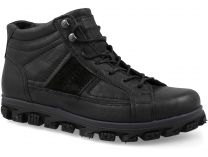 Men's shoes Greyder 11654-5241 Black leather