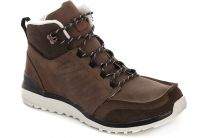 Mens shoes Salomon Salomon UTILITY BROWN LTR/BISON LTR/GY 361651 (brown)