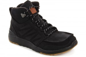 Ботинки Salomon Utility 366425 Black Nubuk