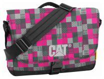 Сумка CAT Millennial 83111-197 унисекс   (серый/розовый/чёрный)