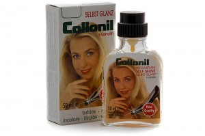 Cream lacquer shoes Collonil Self Shine 2013