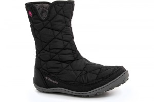 Winter boots Columbia Youth Minx Slip By1329-010 Black