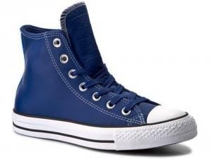 Мужские кеды Converse Chuck Taylor All Star Hi 153813C   (тёмно-синий)