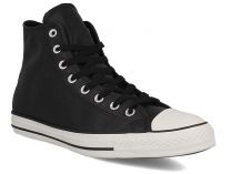 Чоловічі кеди Converse Chuck Taylor All Star Tumble Leather 157468C (чорний)