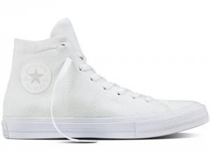 Converse Ctas Flyknit Hi White/White 156734C